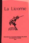 Illustration La Licorne